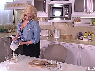 Busty Katy Jayne Destroys a Ache Cock in get under one's Cookhouse