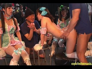 Jav Get through one's head Kururigi Aoi Fucked Vulnerable Stage As soon as Guys Stops Length of existence